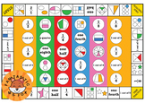 Fractions Board Game (Naming Parts of a Whole and Collections)