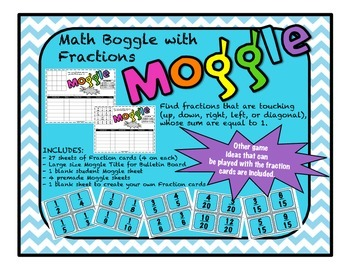 Fractions Boggle