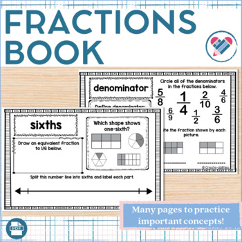 Fractions Book