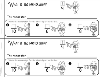 Fractions Booklet