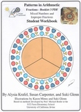 Fractions:  Booklet 3 - Mixed Numbers and Improper Fractions Student Workbook