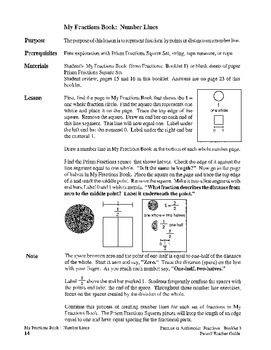 Fractions:  Booklet 3 - Mixed Numbers and Improper Fractions Teacher
