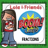 Fractions Boom Cards Digital Resource
