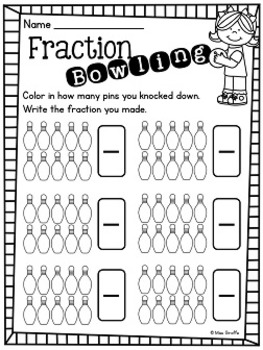 Crush image for printable fractions games