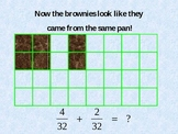 Fractions & Brownies: Why We Need Common Denominators to Add / Subtract