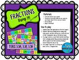 Fractions Bump it! TEKS 3.3A, 3.3F, 3.3H