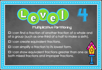 Fractions Bump it Up Wall - NSW Numeracy Continuum Aligned