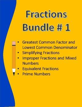 Fractions Bundle # 1