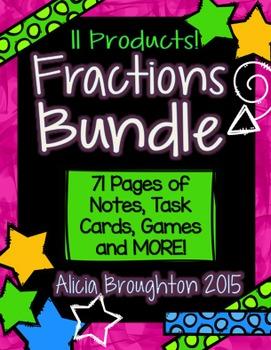 Fractions Bundle! 12 Products!