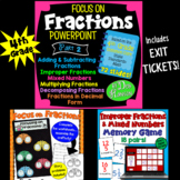 Fractions Bundle 2 (based on 4th Grade CCSS)