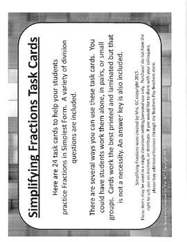 Fractions Bundle (7 topics) Task Cards