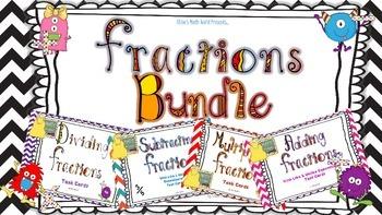 Fractions Bundle - BUY 3 GET 1 FREE!