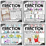 Fractions Bundle | Craftivity, Center, and Task Cards