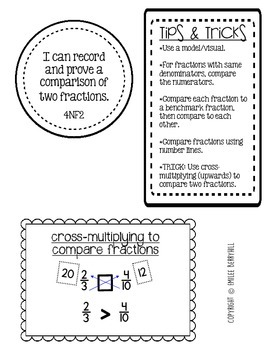 FRACTIONS BUNDLE! Equivalent, Comparing, Adding & Subtracting - 4NF1, 4NF2, 4N3a