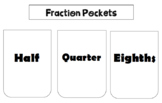 Fractions Bundle - Half, Quarters, Eighths and Collections