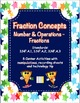 Fractions Bundle - Math Made Easy - Math Centers for Grade 3