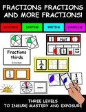Fractions Task Boxes