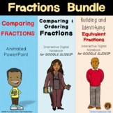 Fractions Bundle for Comparing Fractions and Finding Equiv