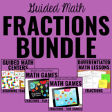 Fractions Bundle for Guided Math