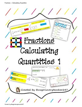 Fractions - Calculating Quantities (1)