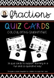 Fractions - Calculating Quantities
