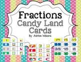 Fractions Candy Land Card Sets