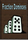Fractions Center Fun dominoes