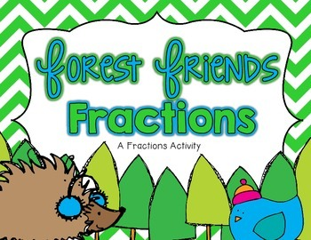 Fractions Center with Extra Practice Sheets