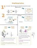 Fractions Cheat Sheet