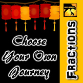 "Fractions: ""Choose Your Own Journey"" Book"