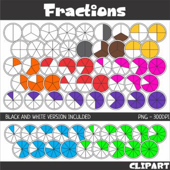 Fractions Clip Art