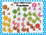 Fractions Clipart MEGA Bundle