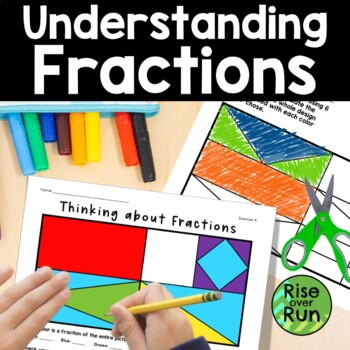 Fractions Color Activity - Concept Building, Addition