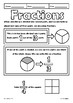 Fractions Color and Learn Elementary Math Doodle Notes