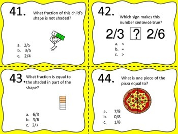 Fractions--Common Core--Third Grade
