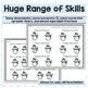 Fractions - Comparing Fractions Complete Set - Snowman/Winter Activities