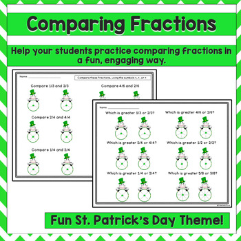 Fractions St. Patrick's Day