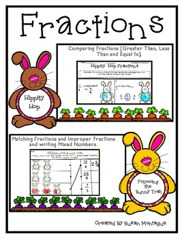 Fractions Comparing Fractions and Matching Improper Fractions and Mixed Numbers