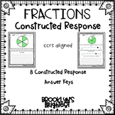 Fractions Constructed Response