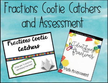 Fractions Cootie Cutter and 65 Assessment Questions