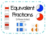 Fractions- Creating Equivalent Fractions (differentiated)