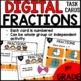 Fractions DIGITAL TASK CARDS