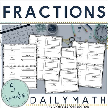 Fractions Daily Math