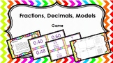 Fractions, Decimals, Models Game