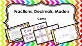 Fractions, Decimals, Models Game