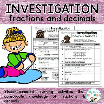 Fractions & Decimals - Numeracy Investigation