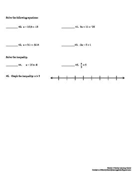 Fractions, Decimals, & Percent Practice