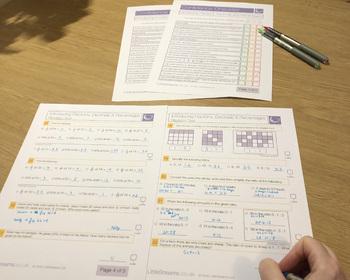 Fractions, Decimals & Percentages Bundle Printables/Worksheets