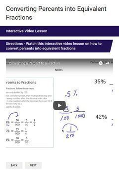 Fractions, Decimals & Percents Google Form Bundle – Perfect for Google Classroom