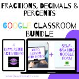 Fractions, Decimals & Percents Google Form Bundle – Perfec